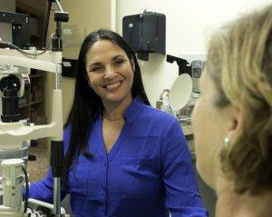 Monya is one of our amazing eye doctors
